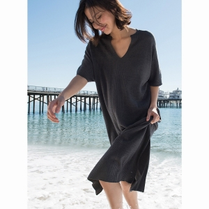 Cozy Chic Ultra Lite Caftan by Barefoot Dreams