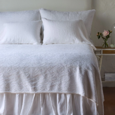 Adele Coverlet and Shams by Bella Notte