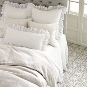 Savannah Linen Gauze Shams, Pillow and Bedskirt by Pine Cone Hill