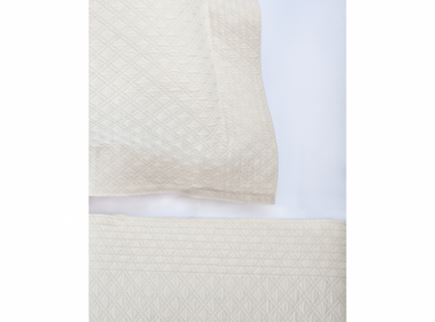Alyssa Matelasse Coverlet and Shams by Peacock Alley
