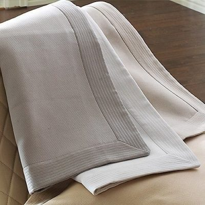 Angelina Pique Coverlet & Shams by Peacock Alley