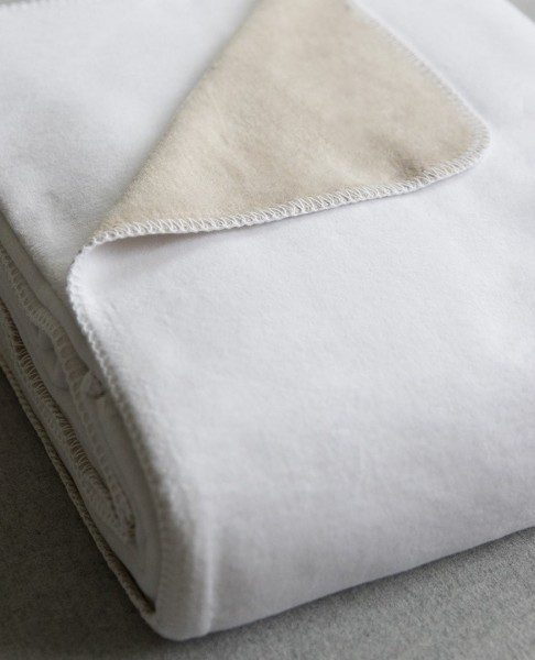 Alta Two Tone Blanket by Peacock Alley
