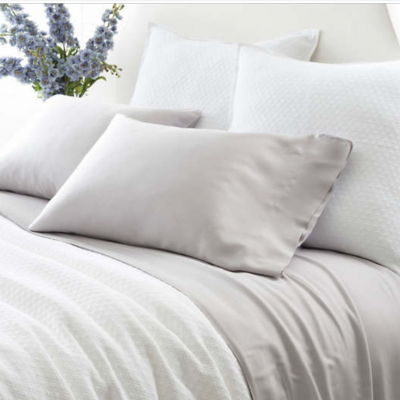 ON SALE:  Silken Solid Duvet Cover by Pine Cone Hill