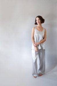 Laura/Jolie Satin Loungewear PJ Set by PJ Harlow
