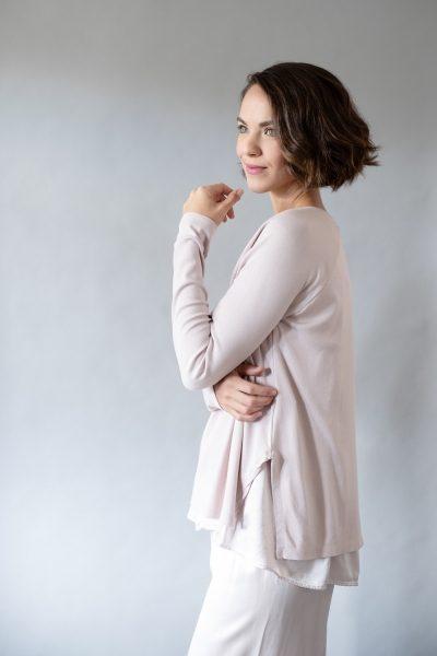 Laura/Jolie Satin Loungewear PJ Set Dusty Violet by PJ Harlow