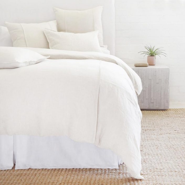 Louwie Organic Linen Duvet, Shams by Pom Pom at Home