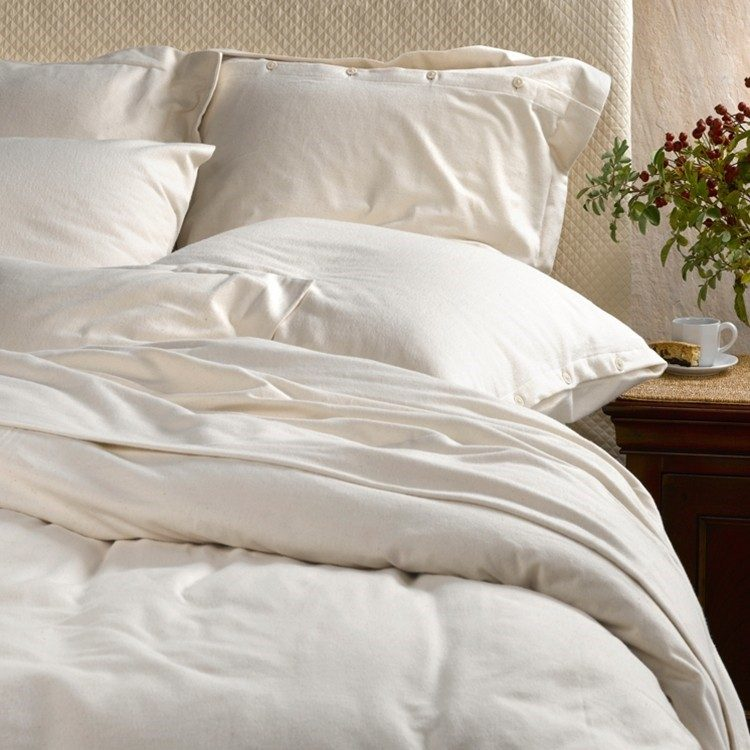 purists italian flannel sheets and duvet covers by sdh porter prince