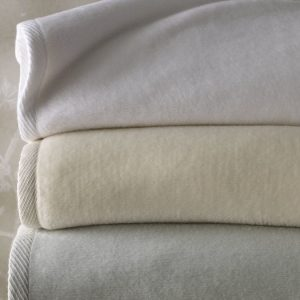 St. Moritz All Season Cotton Blanket by Sferra