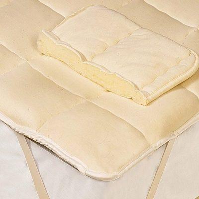 Wool Filled Mattress Pad