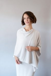 Cozy Chic Ultra Lite Poncho by Barefoot Dreams