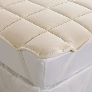 Wool Filled Mattress Pad