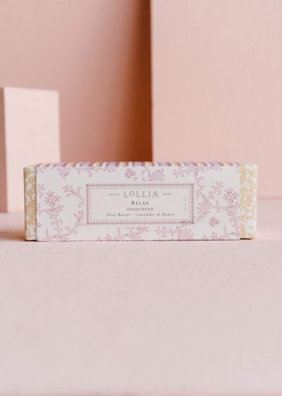 Relax Shea Butter Handcreme by Lollia