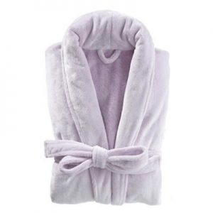 Frosted Fleece Shortie Robe by Pine Cone Hill