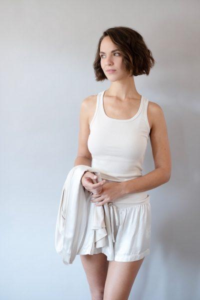 Charlie Mikel Satin Loungewear Set by PJ Harlow