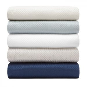 Alba Quilted Cotton Coverlet by Matouk