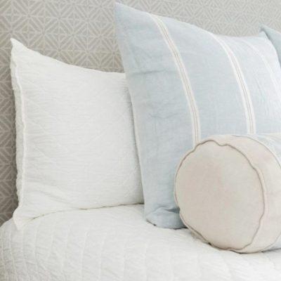 Louisa Relaxed Diamond Matelasse Coverlet, Shams