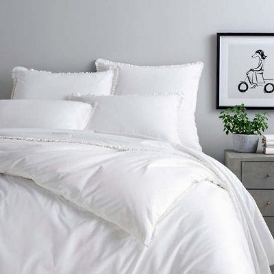 ON SALE:  Petite Ruffle Sheet Set and Shams by Pine Cone Hill