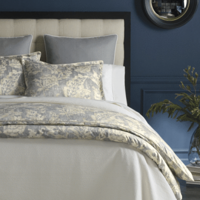 Remi Printed Sateen Duvet and Shams by Peacock Alley