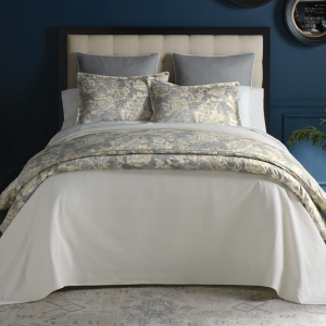 Remi Printed Sateen Duvet & Shams by Peacock Alley