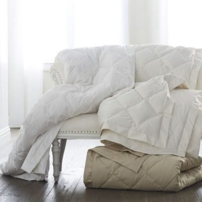 Washable Diamond Down Coverlet by Scandia