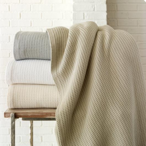 Riviera Blanket by Peacock Alley