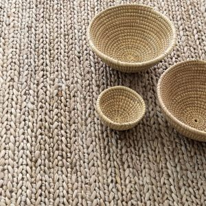 Jute Woven Seaglass Rug by Dash and Albert
