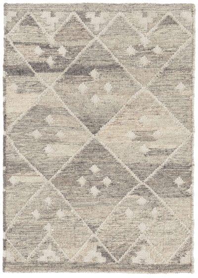 Kota Natural Woven Wool Rug by Dash and Albert