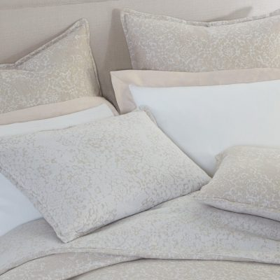 Avalon Duvet, Shams by Peacock Alley