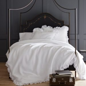 Penelope Ruffled Duvet Cover by Peacock Alley