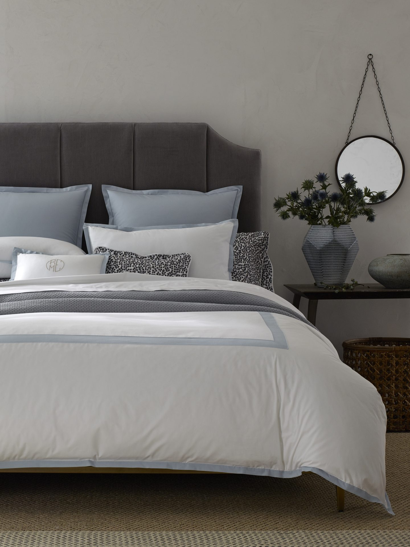 Oberlin Pool Duvet Cover And Shams By Matouk Porter Amp Prince