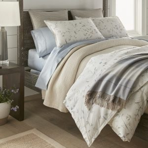 Avery Duvet Cover, Shams by Peacock Alley