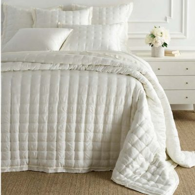 Silken Solid Puff and Shams by Pine Cone Hill