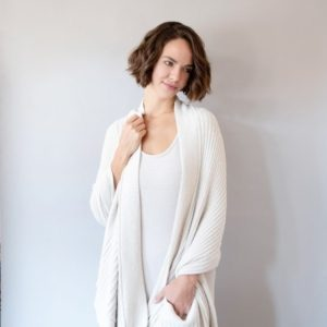 Cozychic Travel Shawl with Pockets by Barefoot Dreams