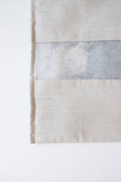 Lavender Filled Natural Linen Drawer Liner and Hanger Sachet by Elizabeth W