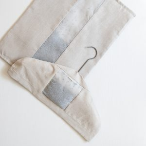 Lavender Filled Natural Linen Drawer Liner and Hanger Sachet by Elizabeth W