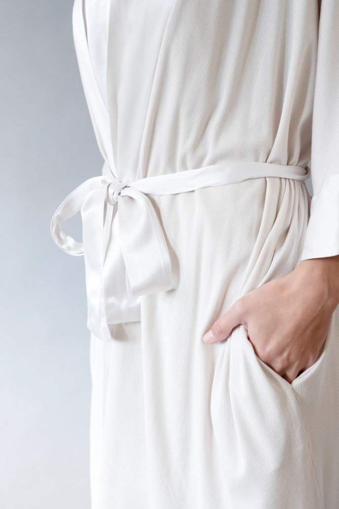 Shala Satin Trim Robe by PJ Harlow