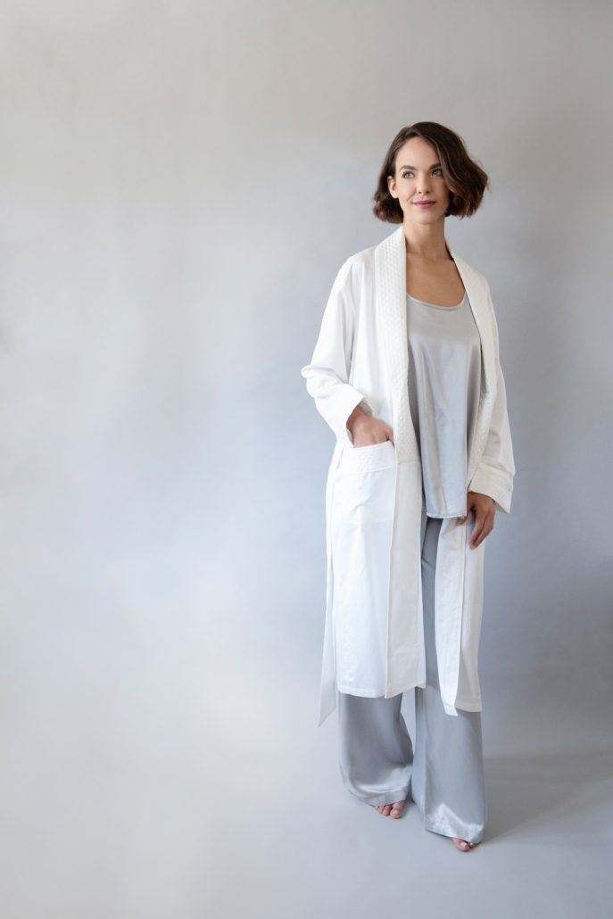 Silk Whispercale Robe by Silk Story