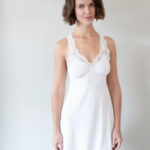 Iconic Chantilly Cream Chemise