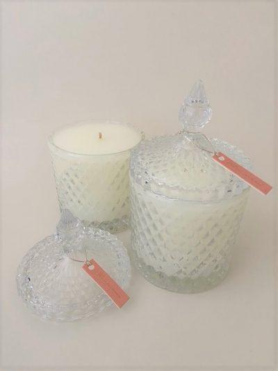Tiramani Crystal Jar Candle