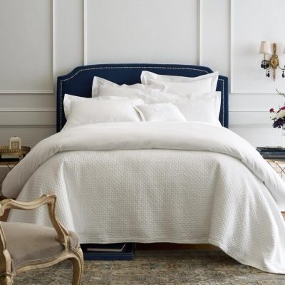 Juliet Matelasse Coverlet & Shams by Peacock Alley