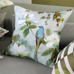 Kiyosumi Celadon Decorative Pillow by Designer's Guild