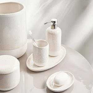 Culver Stoneware Bath Accessories Collection