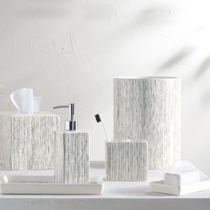Wainscott Porcelain Bath Accessories Collection