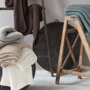 Orla Chunky Knit Throw by Matouk