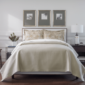 Hamilton Coverlet, Shams by Peacock Alley