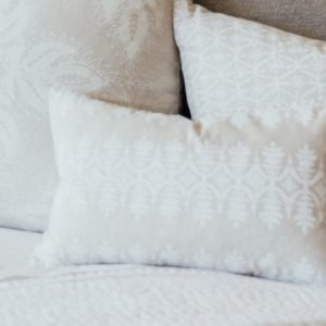 Sama Sand Decorative Pillow by John Robshaw