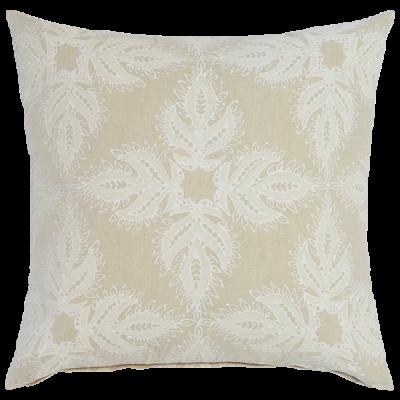 Verdin Sand Euro Pillow by John Robshaw