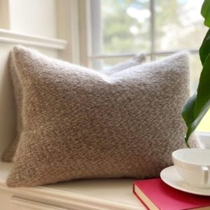 Collio Mohair Pillow by Sferra