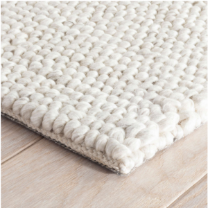 Niels Woven Wool/Viscose Rug by Dash & Albert