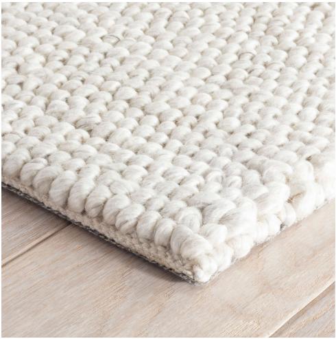 Niels Woven Wool/Viscose Rug by Dash & Albert